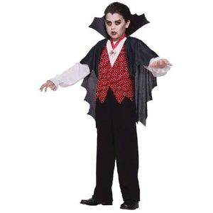 NEW Vampire Halloween Costume Boys Small 4-6